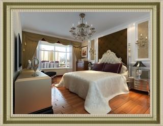 135㎡欧式风格卧室装修效果图
