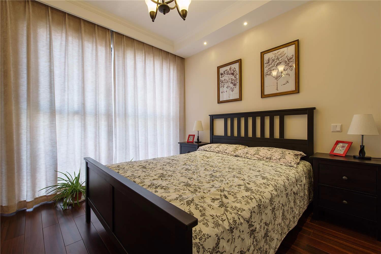 135平米美式风格卧室装修效果图
