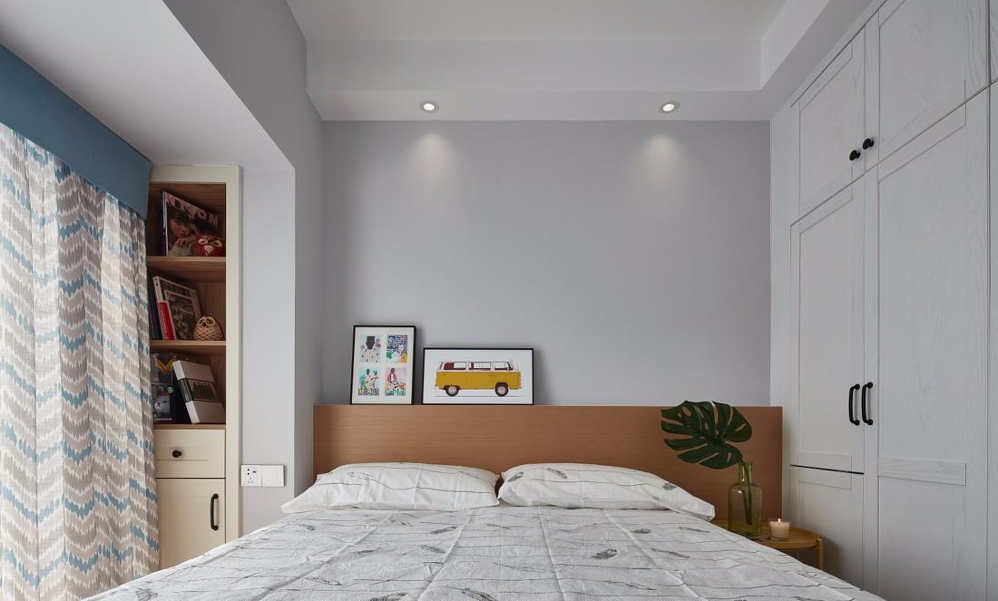 北欧风格两居卧室装修效果图