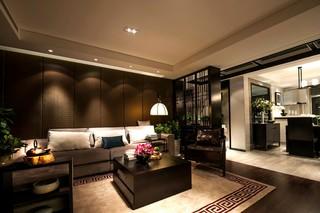 古典中式风格三居客厅装修效果图