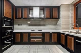 160㎡中式风格厨房装修效果图