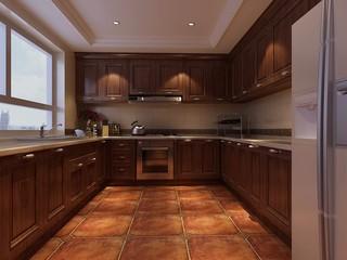 古典风格别墅厨房装修效果图