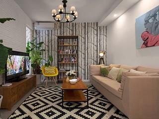 小户型二居客厅装修效果图