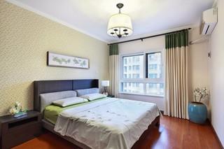 130平米三居卧室装修注册送300元现金老虎机图