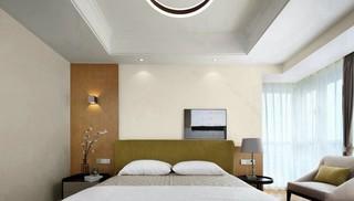 138㎡现代简约卧室装修效果图