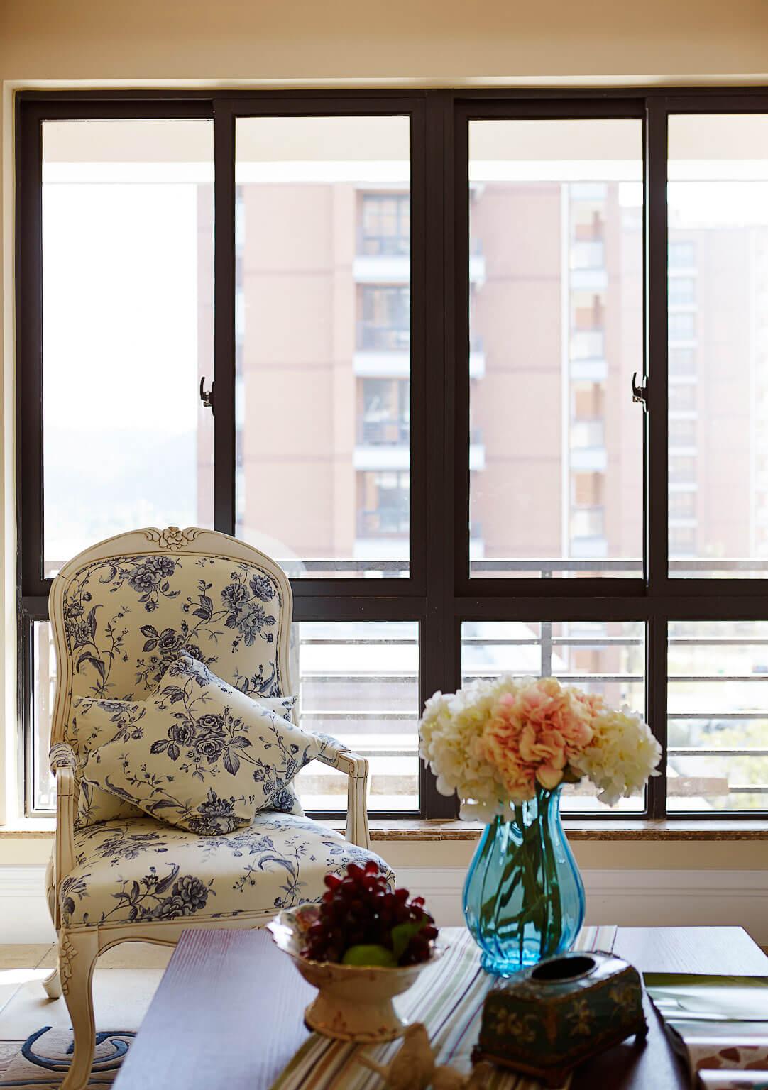 温馨美式风格装修沙发椅设计图