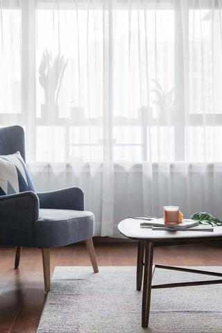 140㎡北欧风格装修窗帘设计图