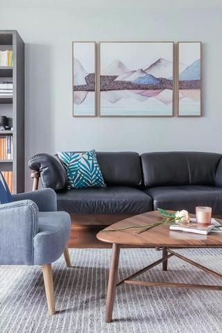 140㎡北欧风格装修沙发设计图
