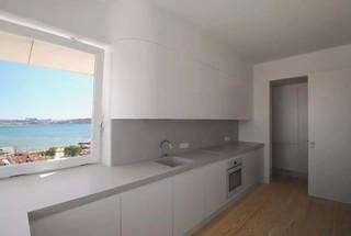 极简风格公寓厨房装修效果图