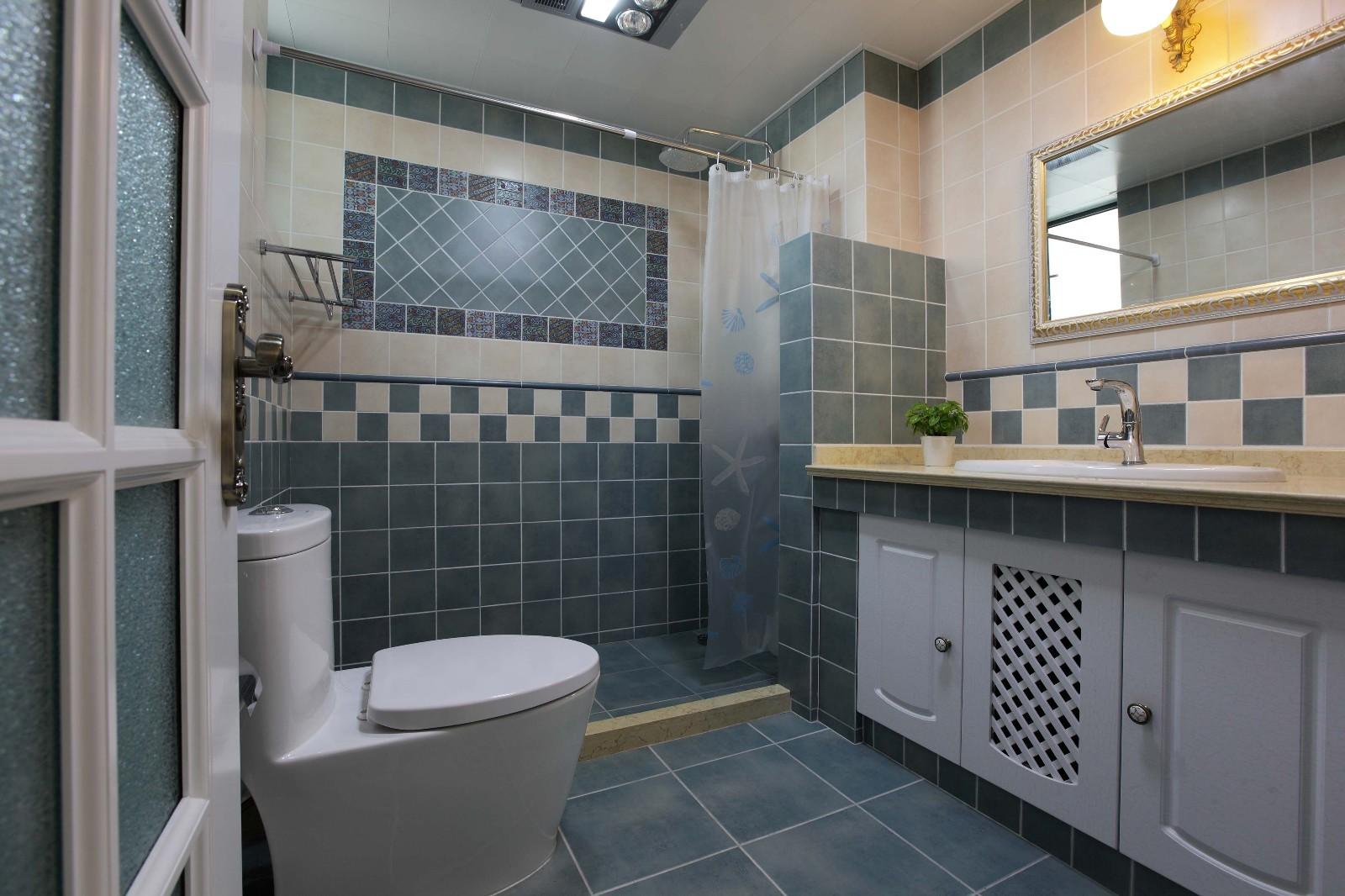 现代欧式风格卫生间装修效果图