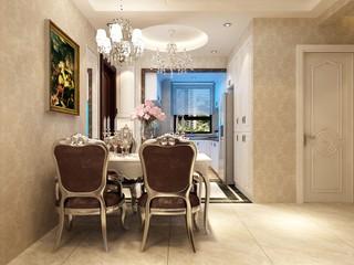 110平米欧式风格餐厅每日首存送20