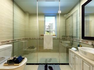 120平米美式风格卫生间每日首存送20