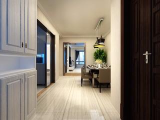 90平米两居室玄关装修效果图