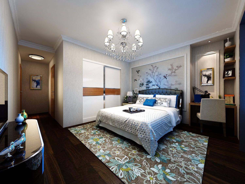 90平米两居卧室装修效果图