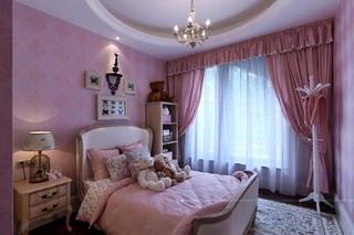 欧美风情别墅儿童房装修设计效果图