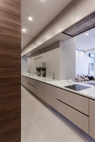 现代风公寓厨房装修效果图