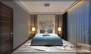 120㎡时尚现代风卧室装修效果图