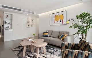 宜家风格两居室装修效果图