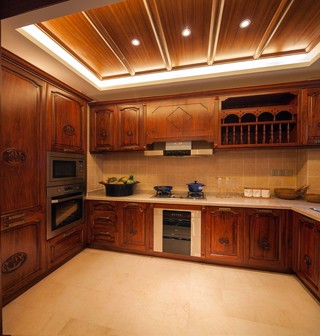 大户型东南亚风格厨房装修效果图