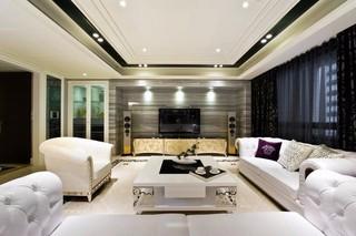 古典欧式风格四房装修效果图