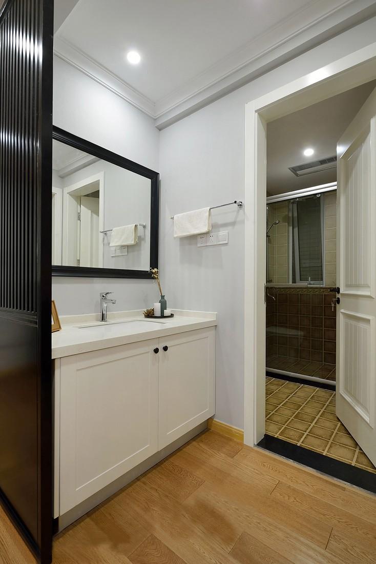 简美风格两居室卫生间装修效果图