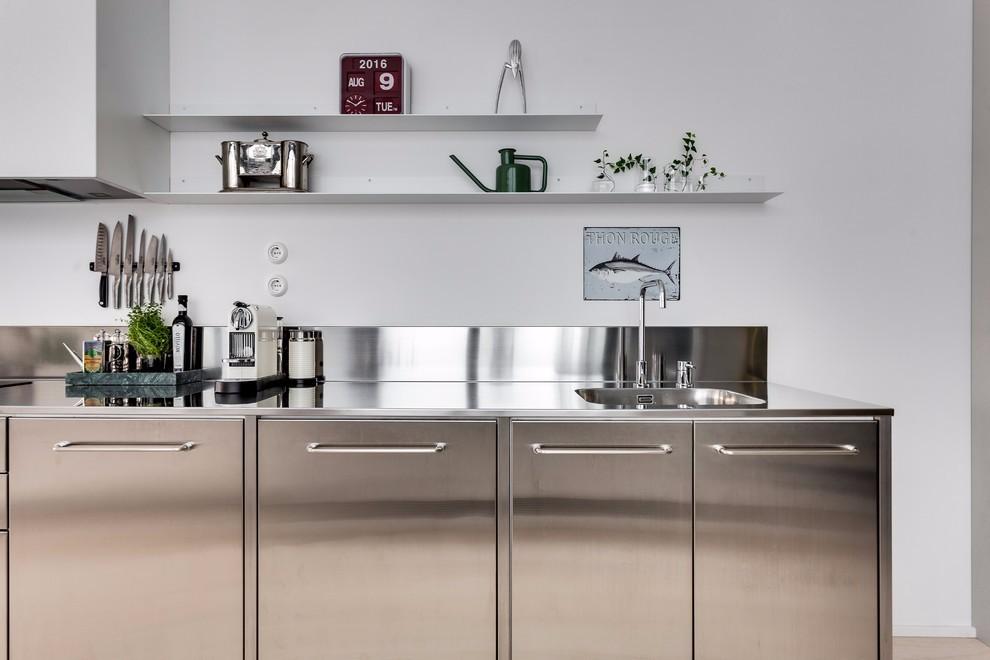 北欧风格公寓厨房装修效果图