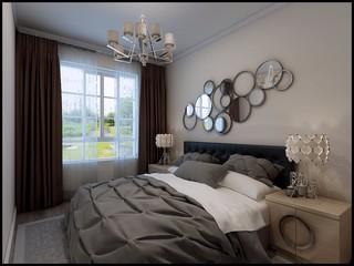 后现代两居卧室装修效果图