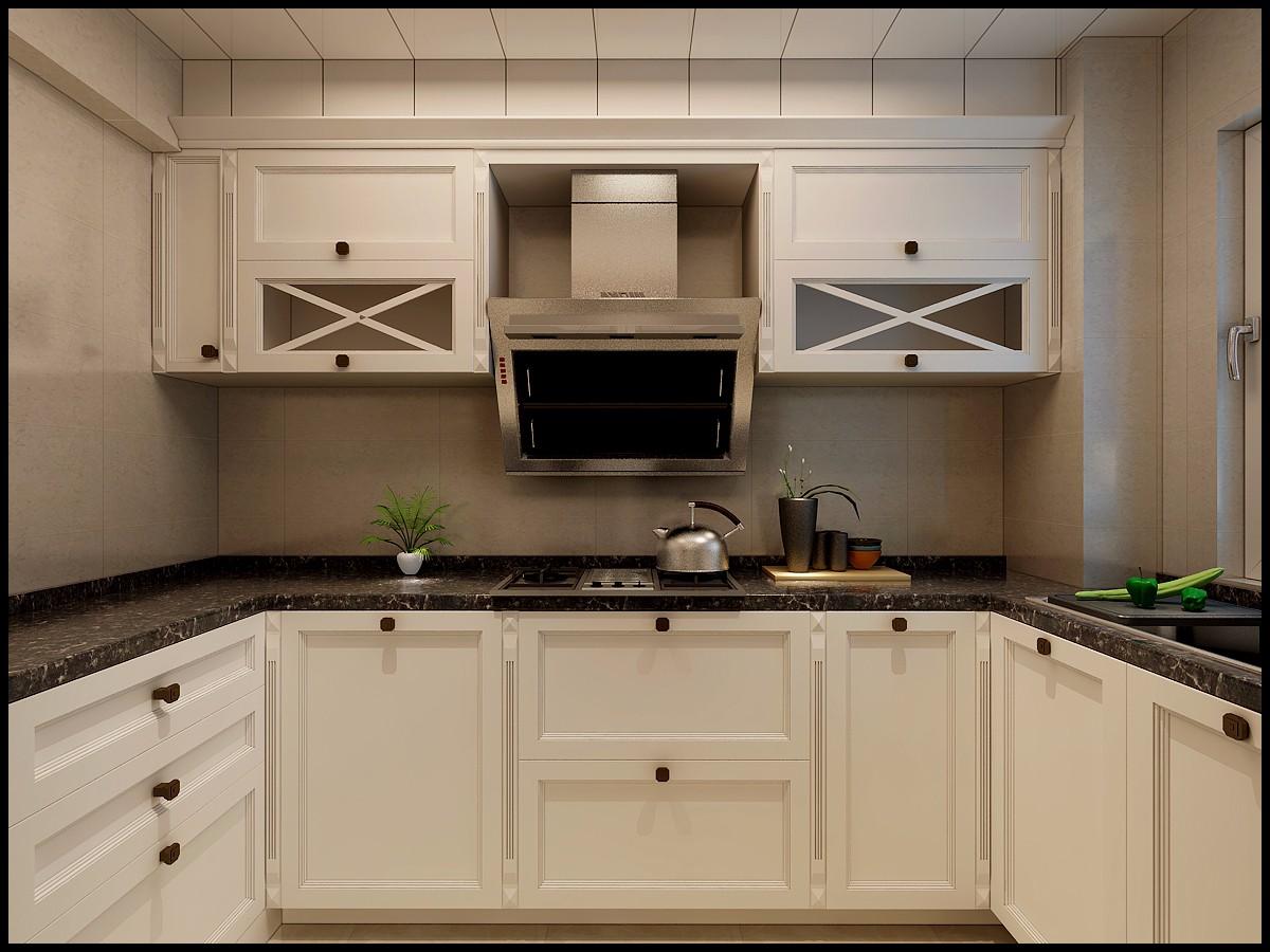 后现代两居室厨房装修效果图