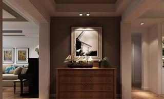 美式风格玄关装修设计效果图