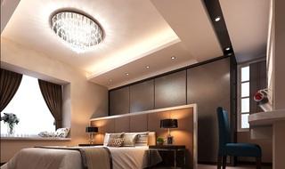 120平后现代风格卧室装修效果图