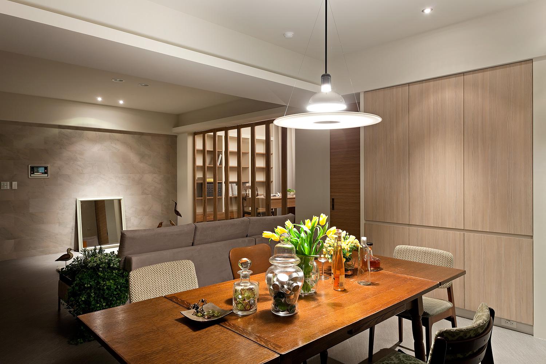 130平现代风格餐厅装修效果图