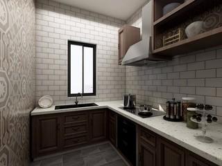 简约风格两居厨房装修效果图