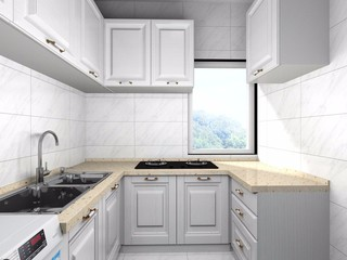 80平米两居室厨房装修效果图