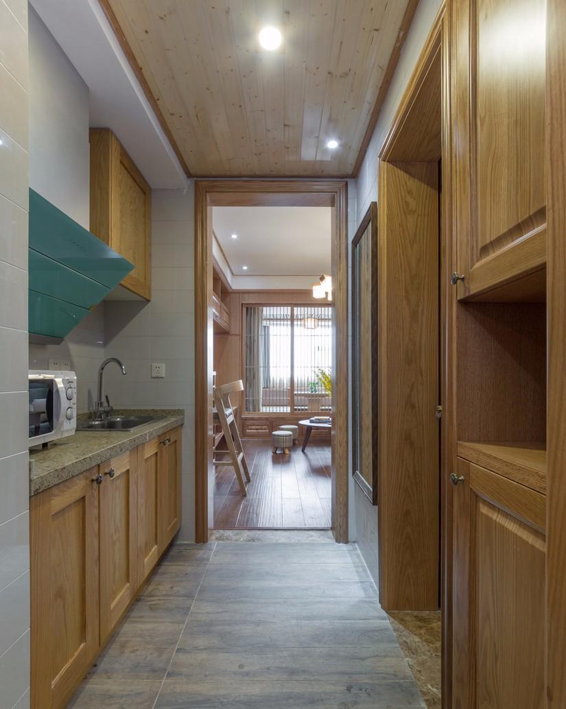 小户型日式风格厨房装修效果图
