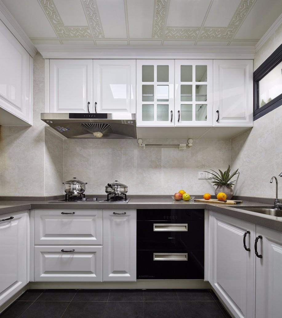 125㎡混搭风格厨房装修效果图
