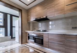 新中式风三居室厨房装修效果图