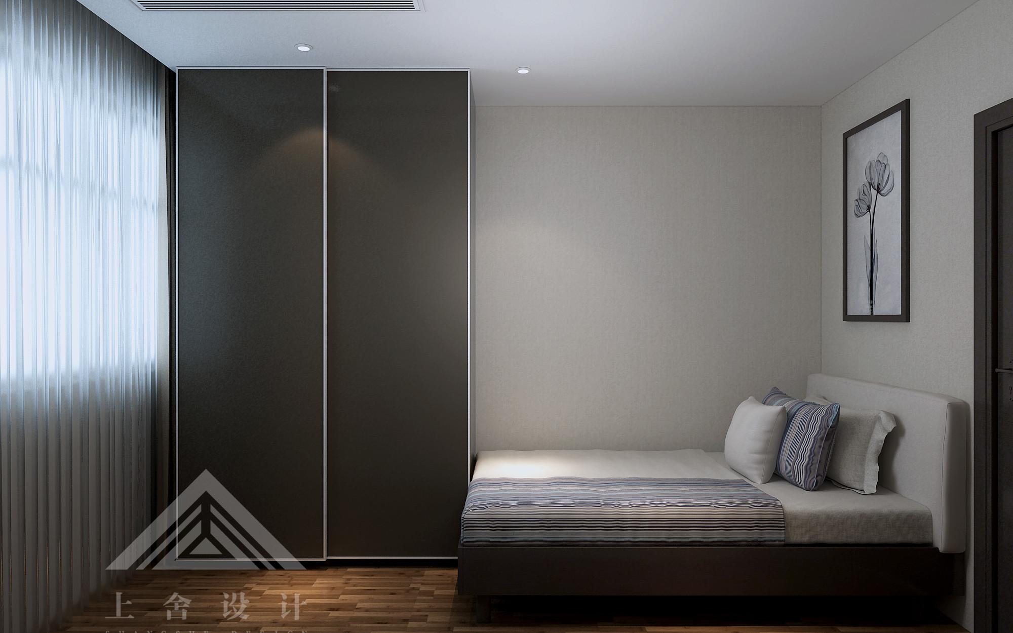 新中式卧室装修设计效果图
