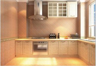 130平欧式风格厨房装修效果图