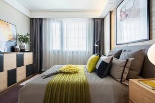 現代簡約兩居臥室裝修效果圖