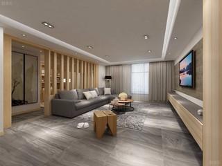 素雅中式风格客厅装修效果图