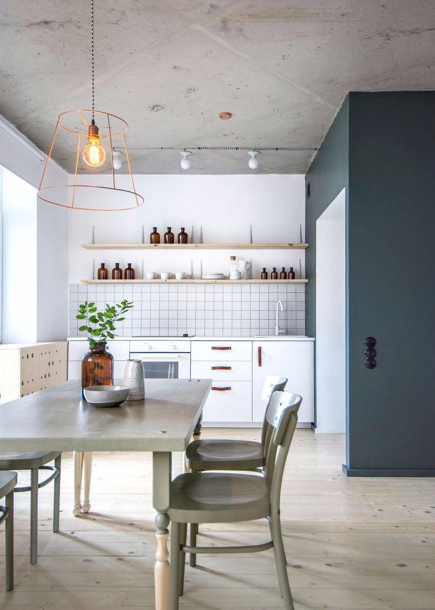 一居室小户型厨房装修设计图