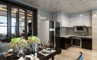 现代三居室厨房装修设计效果图