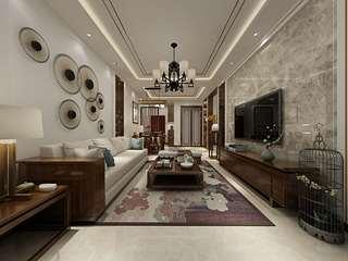中式风格两居室客厅每日首存送20