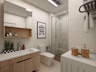 北欧单身公寓卫生间装修效果图