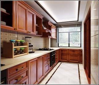 奢华中风厨房装修效果图