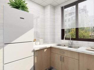 北欧风格二居厨房装修效果图