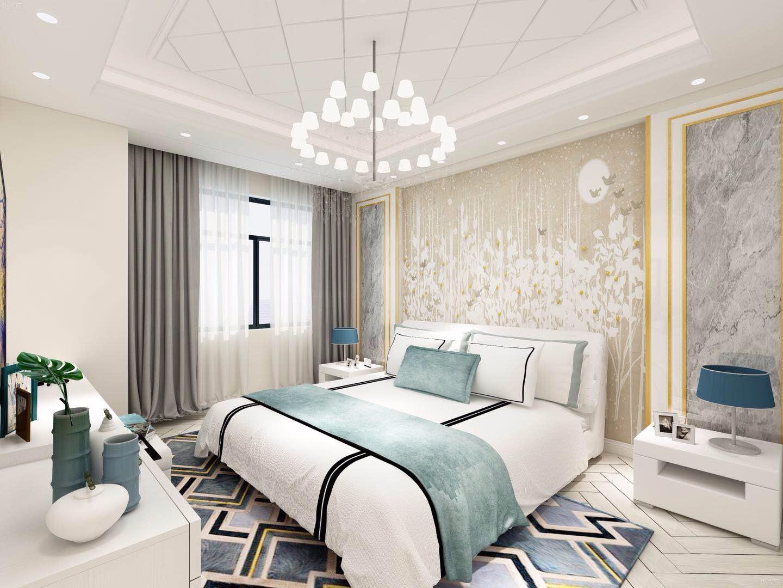 135平现代风格卧室装修效果图