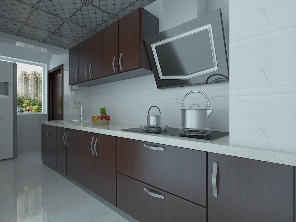 混搭风格厨房装修设计图