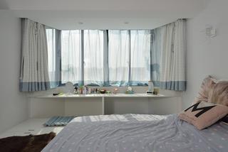宜家风格卧室窗台装修效果图
