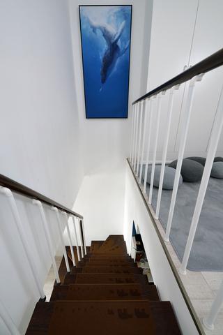 复式宜家风格楼梯间装修效果图